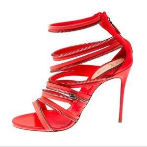 Christian Louboutin Shoes - CHRISTIAN LOUBOUTIN ZIPPER HEELS